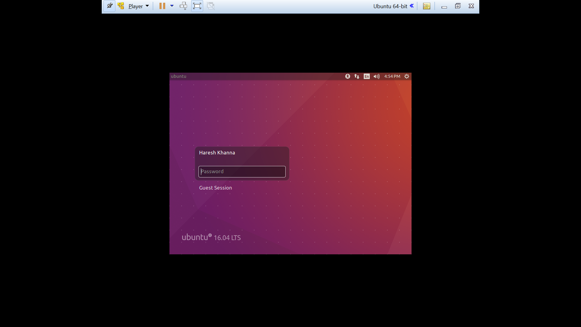 Ubuntu 16 04 VMWare: Fullscreen Fix